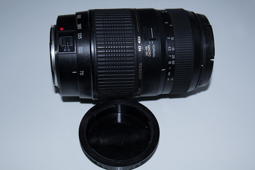 Продам Tamron 70—300 AF 1: 4—5.6 для Canon