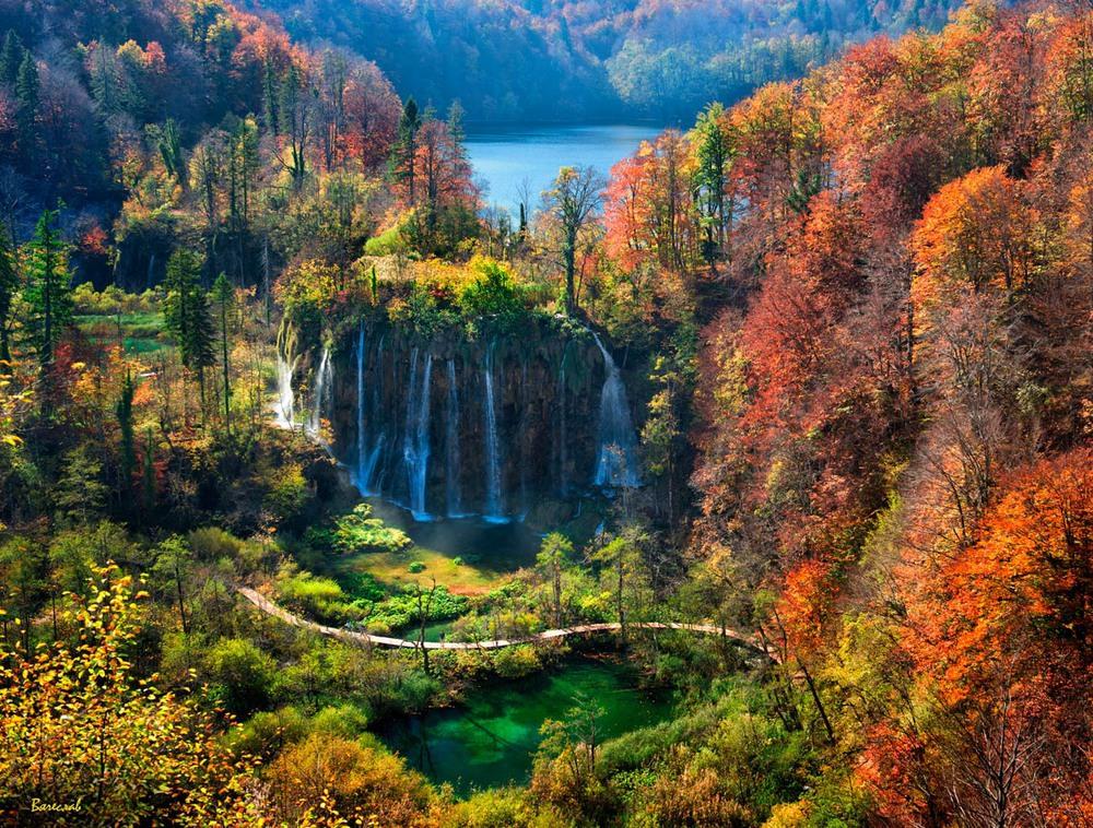 Барви Плітвицьких озер Автор: Вячеслав