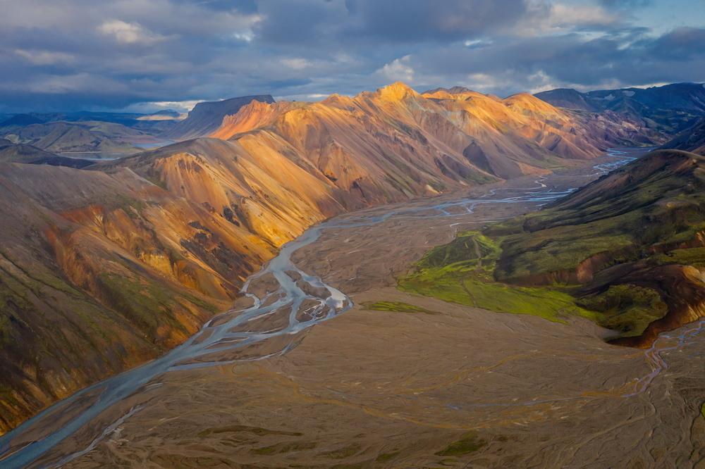 Цветные горы Автор: Сергей Вовк