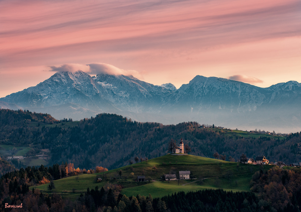ранок над Юліанськими Альпами Автор: Вячеслав