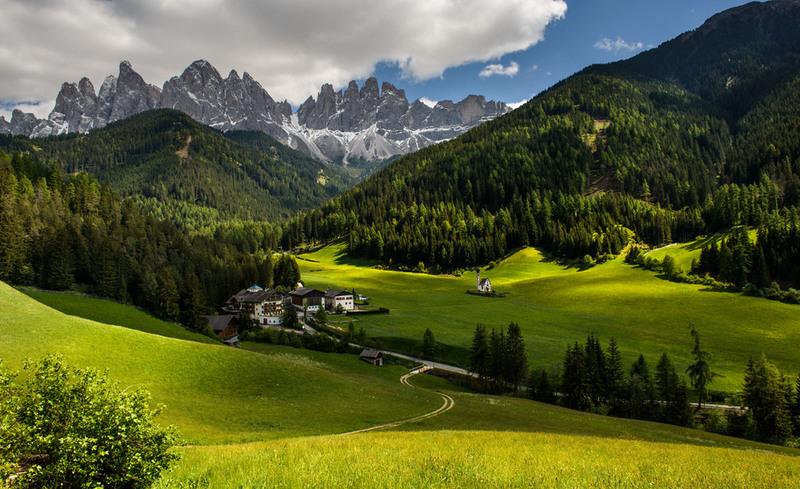 Изумрудная долина Автор: Badimo