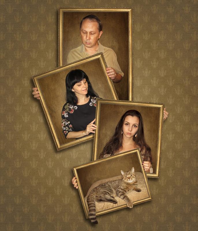 Семейный портрет... Автор: Ирина Кузнецова