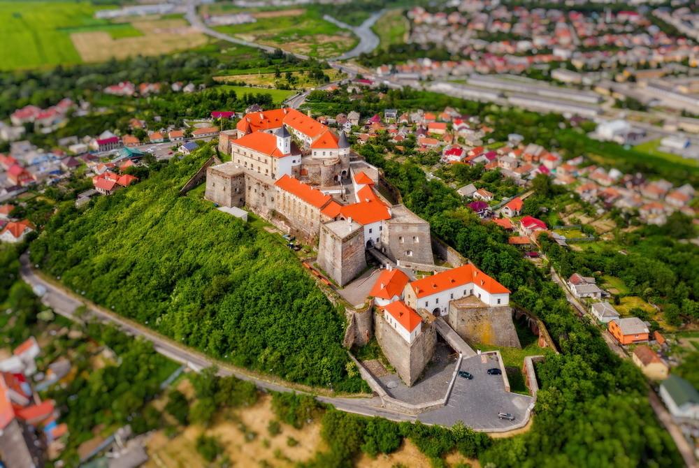 Замок Паланок Автор: Сергей Вовк