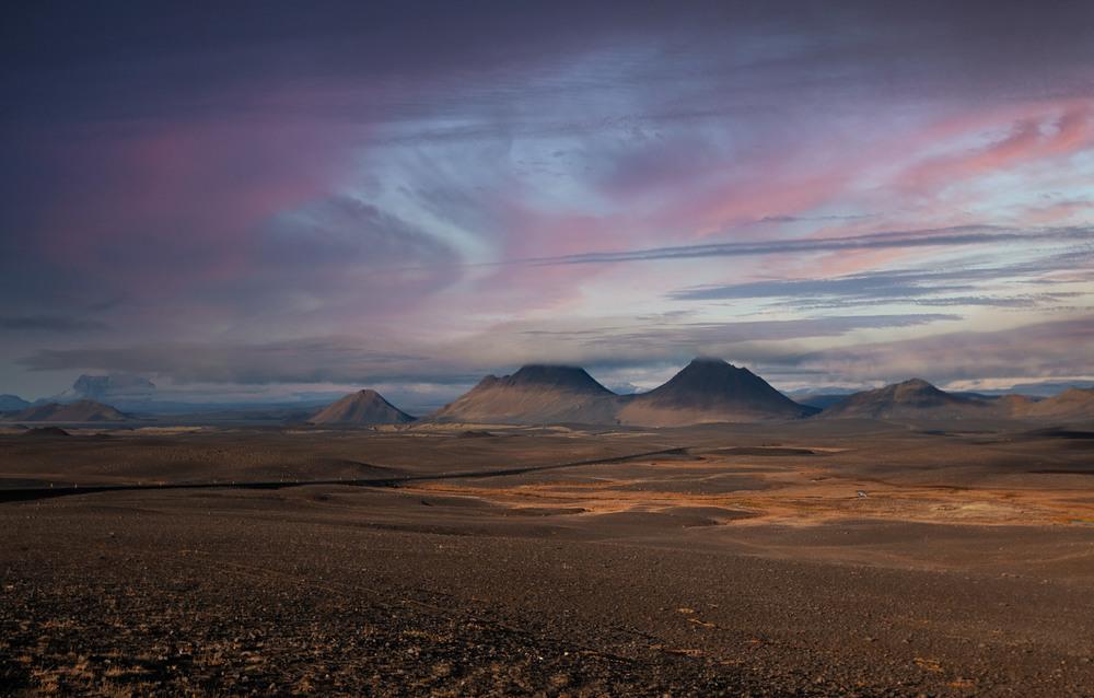Исландские просторы... Автор: Александр Вивчарик