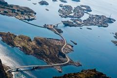 1 Атлантическая дорога. Автор - Asbjørn Floden.