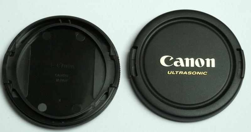 Крышка для объектива Canon Ultrasonic E-67mm