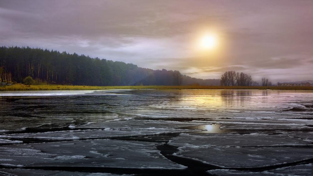 Лід на озері Автор: ☀ Сенсей ☀