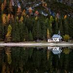 біля озера Автор: В'ячеслав