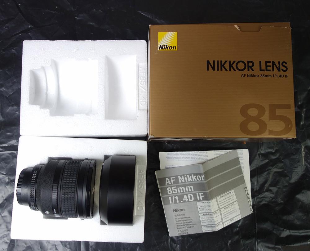 Продам портретний об'єктив Nikkor AF 85mm f/1. 4D IF.