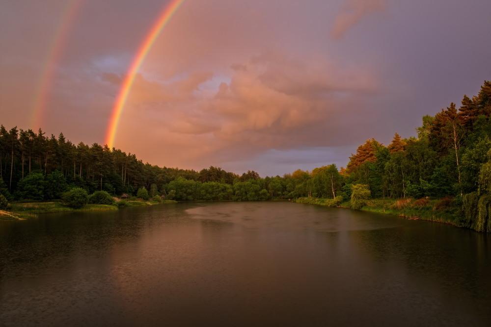 Вечерний ливень в Верещице Автор: Сергей Вовк