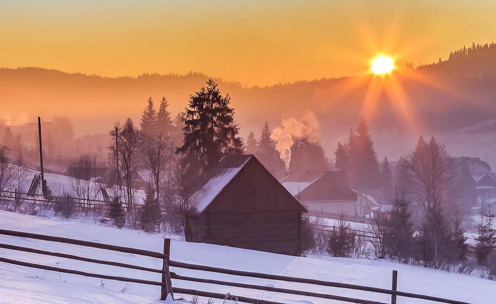 Карпатське сонце Автор: Андрій Косенко