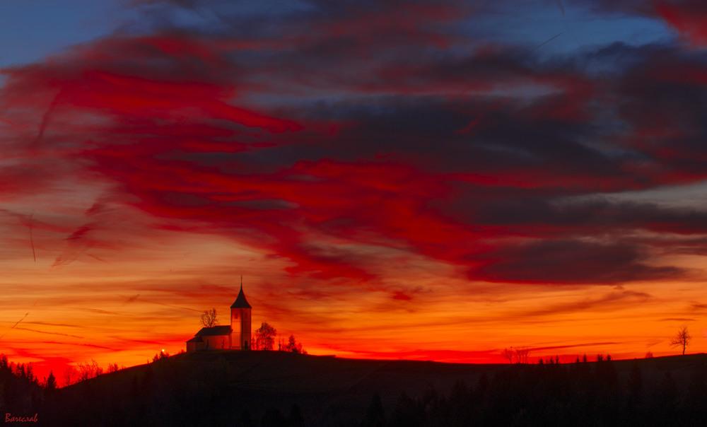 Схід сонця над Ямником Автор: Вячеслав