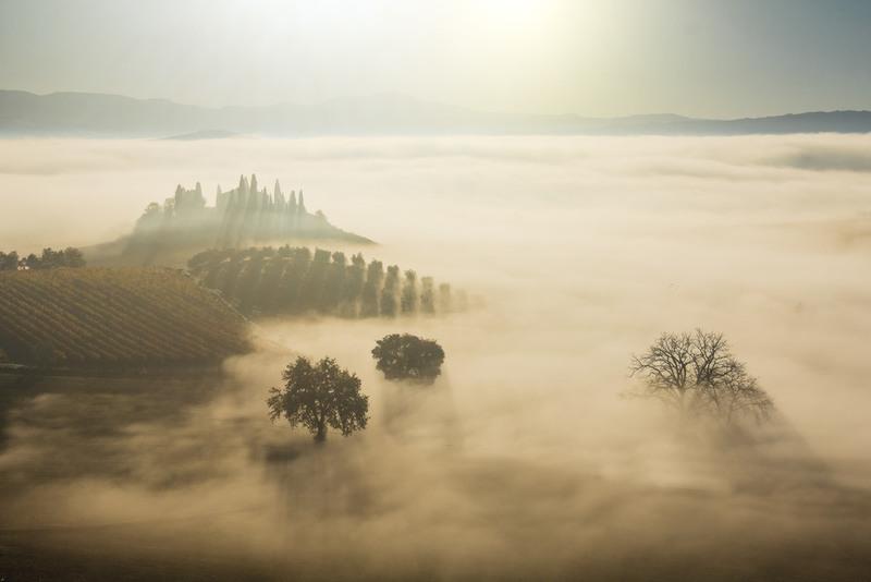 в море тумана Автор: Krasnickaya Ekaterina