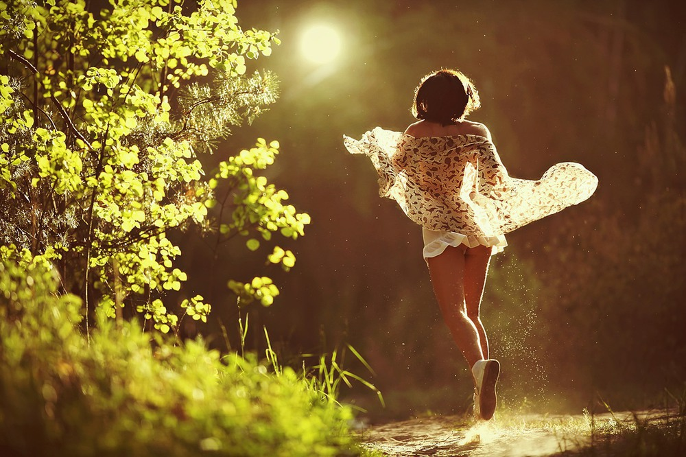 Мотылек и свет... Автор: Элен Бархат