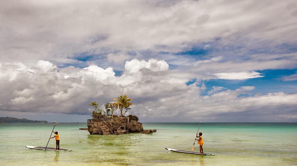 """Два капитана и необитаемый """"островок""""...Филиппины! Автор: Александр Вивчарик"""