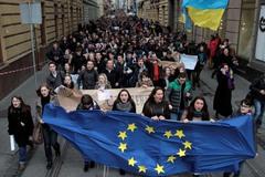 1. 22 ноября 2013 года. Львов Источник: Reuters.