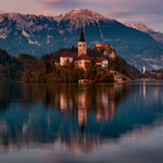 Вечір на озері. Автор: В'ячеслав