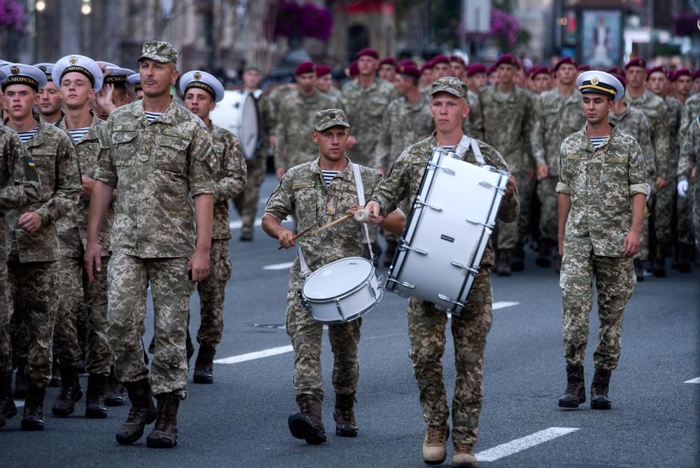 Репетиція параду на День Незалежності