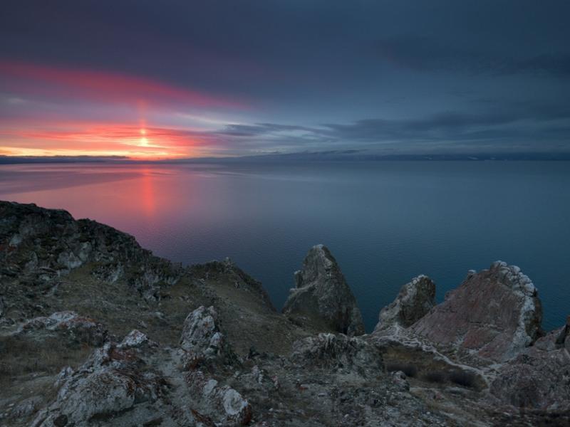 7 Мыс Саган-Хушун, озеро Байкал, Россия. Автор - Андрей Лексаков.