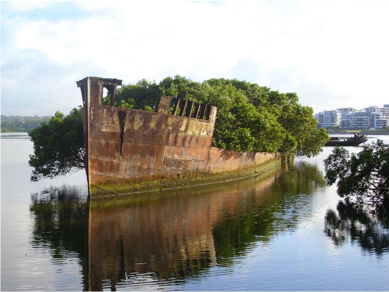 4 100-летний корабль в Сиднее, Австралия. Источник: AndyBrii.