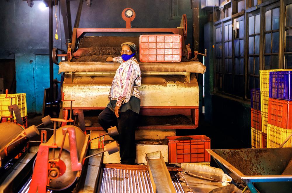 18. На знаменитих чайних фабриках, до сих пір експлуатується обладнання сторічної давнини.