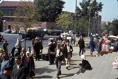 1 Толпы уезжающих на Речном вокзале.