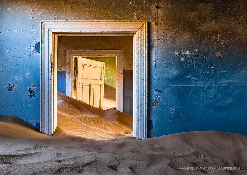 14 Шахтерский город, Намибия. Источник: Marsel Van Oosten.