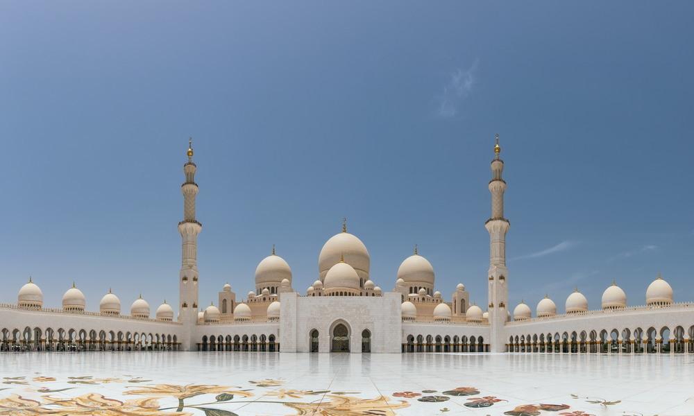 Sheikh Zayed Grand Mosque Автор: Сергей Вовк