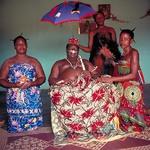 11 Agboli-Agbo Dedjlani � King of Abomey (Benin).