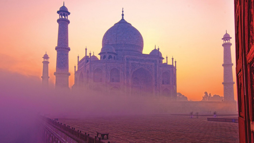 1 Тадж-Махал, город Агра. Источник: jod.uk.com