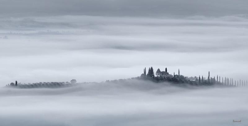 Білі тумани... Автор: Вячеслав