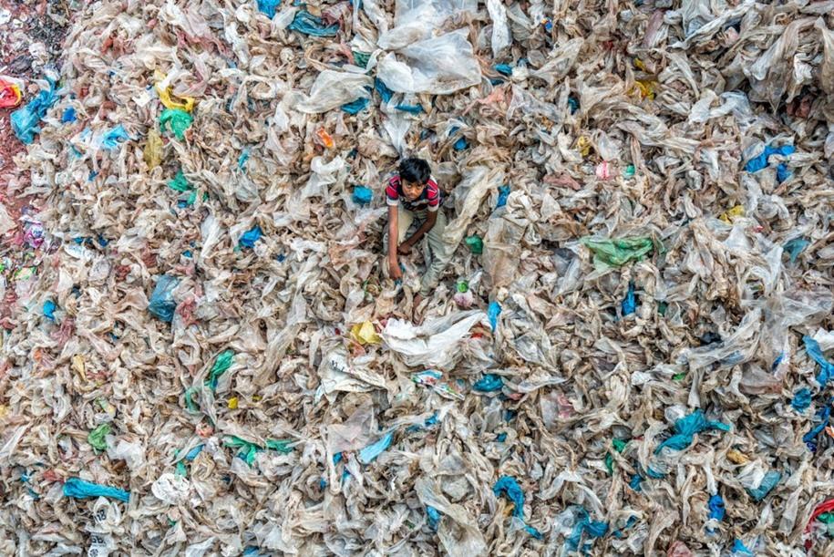 16 Жизнь на мусоре. Автор фото: Сохель Парвез Хак.