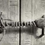 7 Целостная пломба на могиле Тутанхамона, 1922 (3245 лет нетронутости).