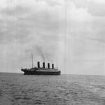 16 Последняя из известных фотографий «Титаника» над воде, 1912.