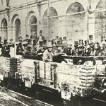 20 Первая в мире поездка в метро, станция «Эджвер-роуд», Лондон, 1862.