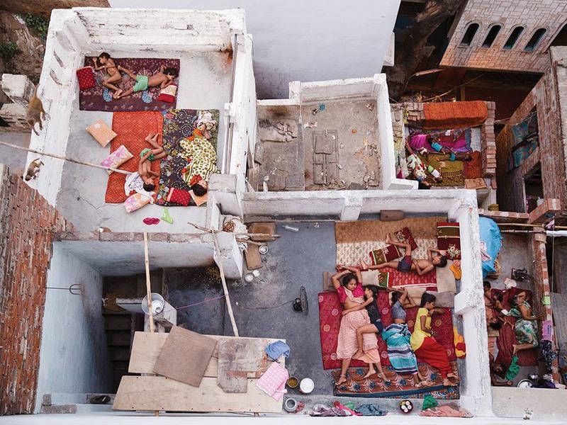 1 Отдых на свежем воздухе. Автор - Yasmin Mund. Варанаси (Индия).