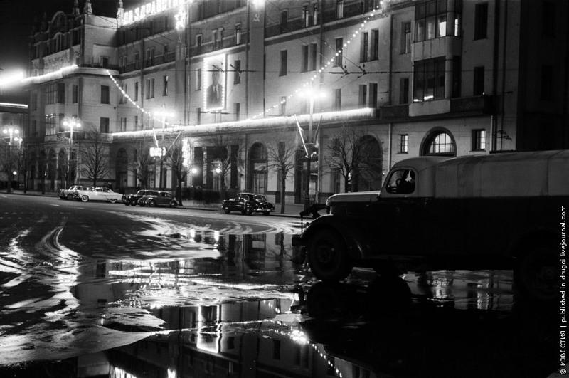 3 Гостиница «Метрополь». 1957 год.
