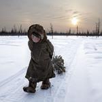 1 1-еместо – На краю света.  Автор: Alessandra Meniconzi. Место: Ямал, Сибирь, Россия.