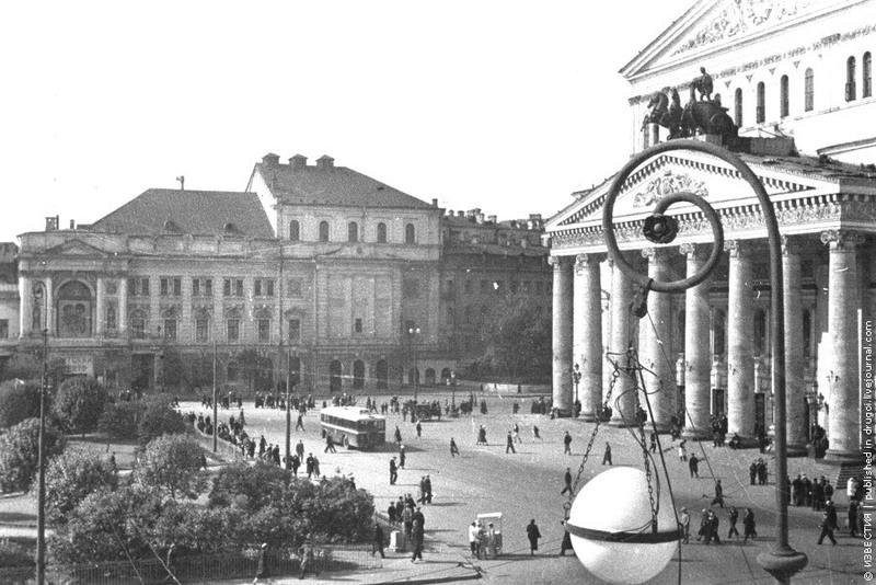 20 «Площадь перед Большим театром».