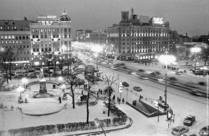 28 Зима на площади им. Пушкина.