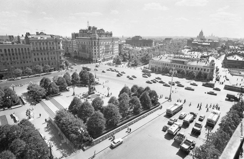 29 Площадь им. Пушкина. 1965 год.