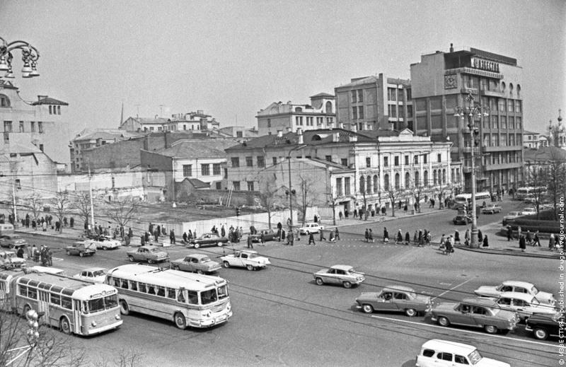 31 Строительство нового здания «Известий». 1970 год.