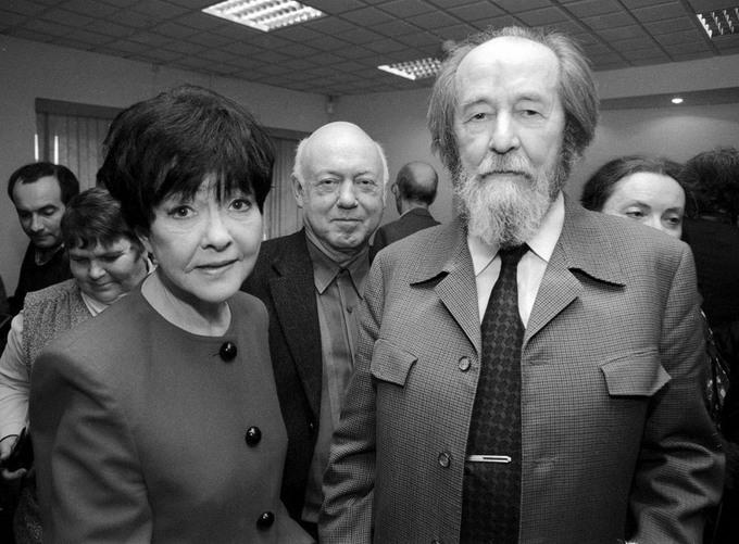 37 Бэлла Ахмадулина, Борис Мессерер, Александр Солженицын. 2000 год.
