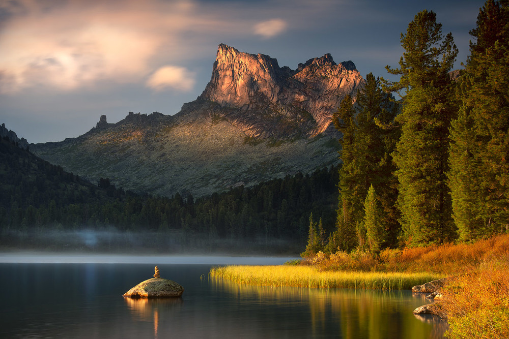 Вечерние пейзажи озера Светлого Автор: Дмитрий Антипов