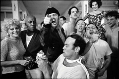 1 Джек Николсон (Jack Nicholson) на съемках One Flew Over the Cuckoo's Nest, 1974.