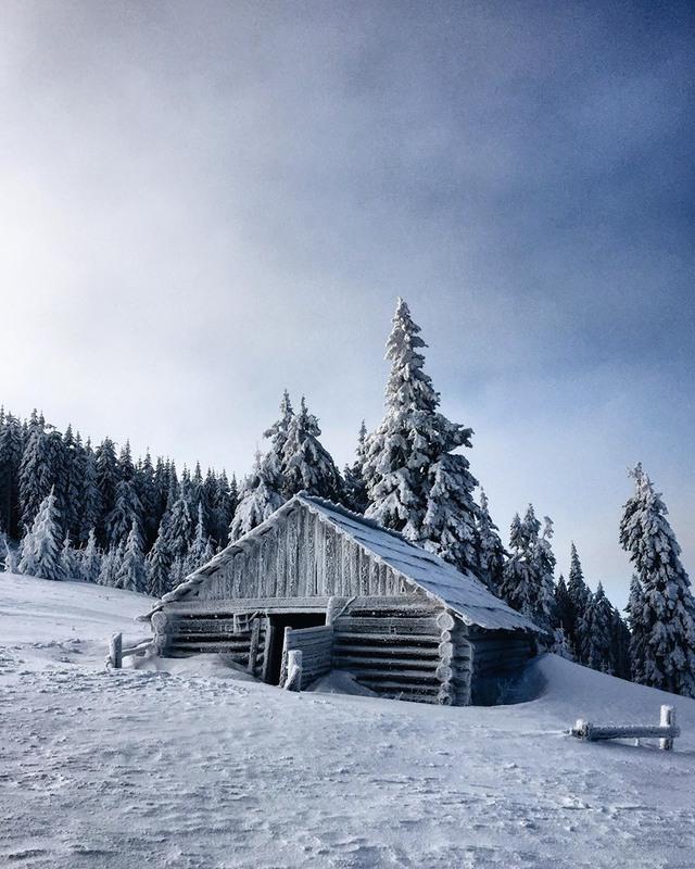 Зима в Карпатах Автор: Роман & Галя (*_*)