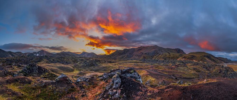 Цвета Исландии Автор: Сергей Вовк