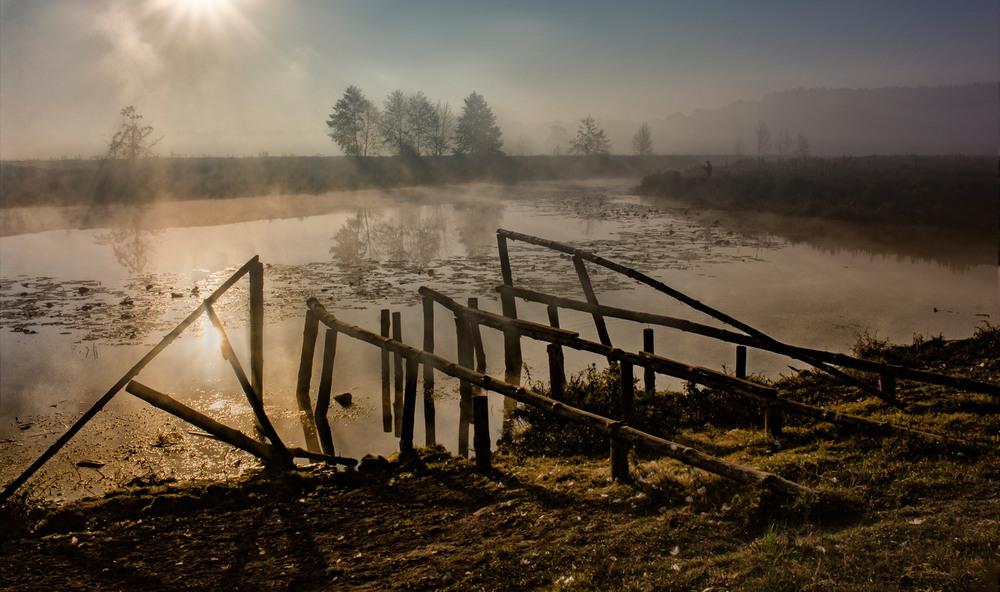 Промінь сонця доторкнувся моїх очей... Автор: Александр Кондратюк/Сандродед