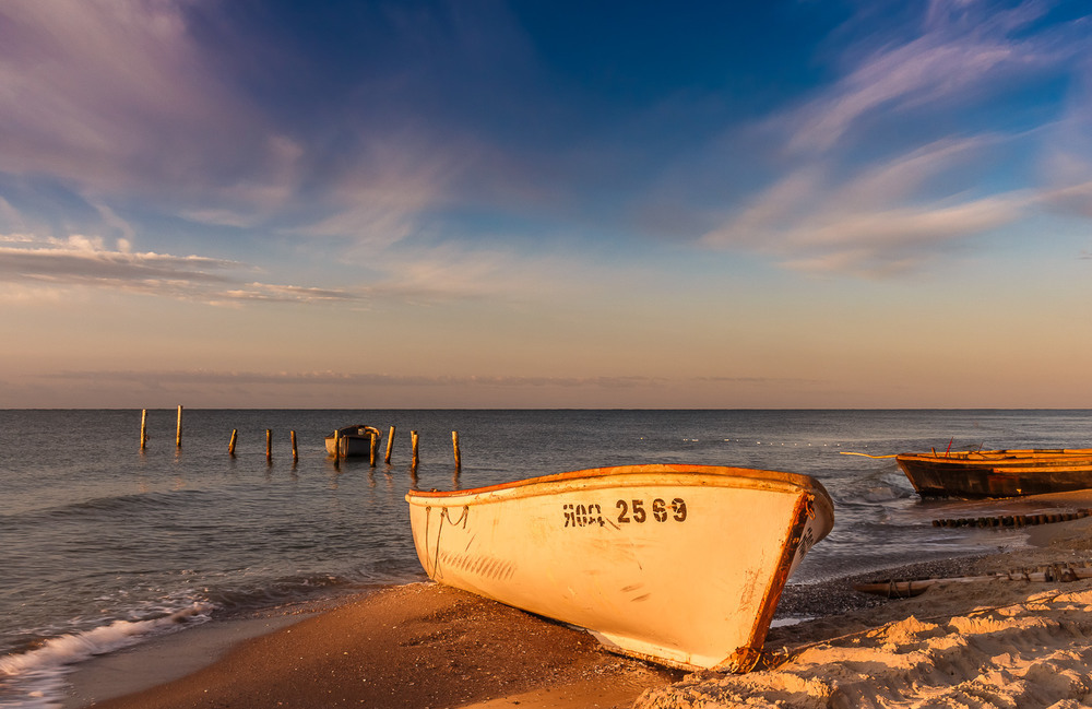 Одного світанку на морі. Автор: Андрій Косенко