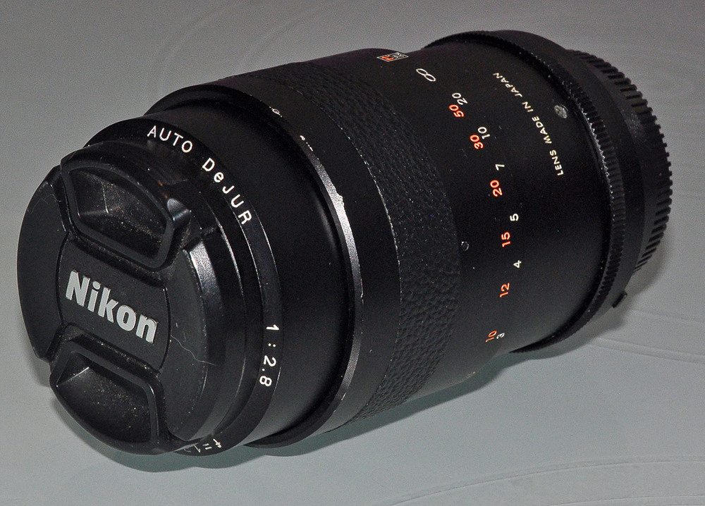 объектив, Nikon Auto Dejur 1: 2.8°f=135mm